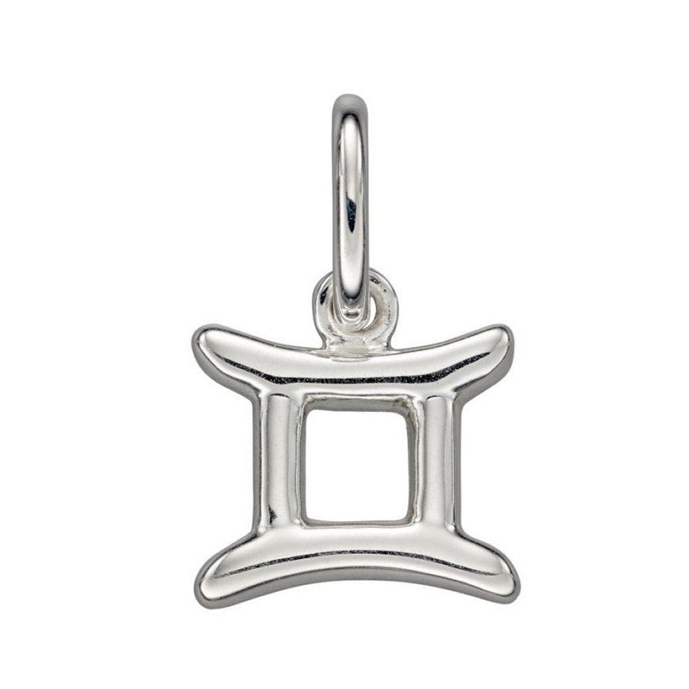 Sterling Silver Gemini Zodiac Pendant Necklaces, Chain & Gift Box  Charming and Trendy Ltd