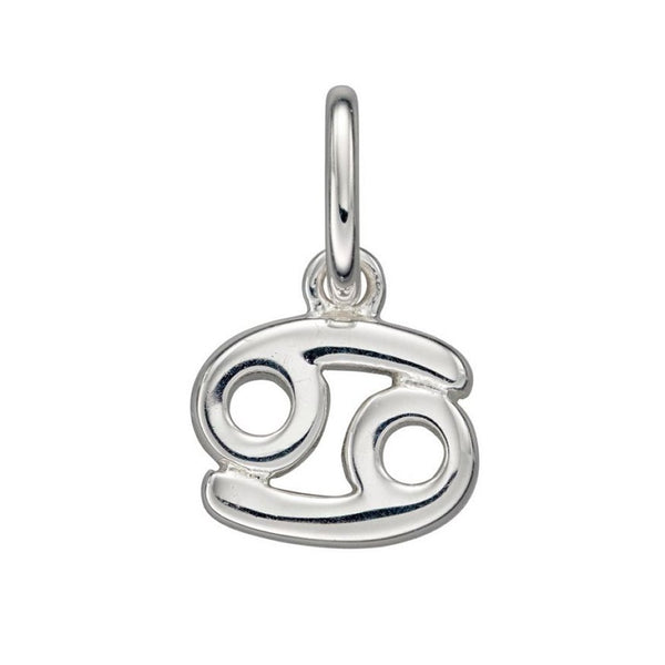 Sterling Silver Cancer Zodiac Pendant Necklaces, Chain & Gift Box  Charming and Trendy Ltd