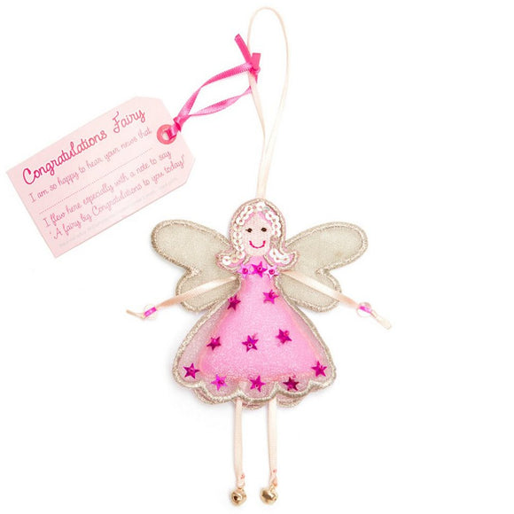 Fair Trade Fairies - Congratulations Fairy GF0021