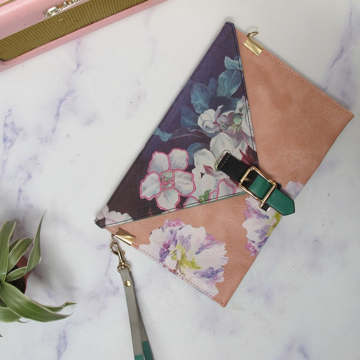 House of Disaster Framed Clutch Bag - RRP £34.99 - Charming And Trendy Ltd