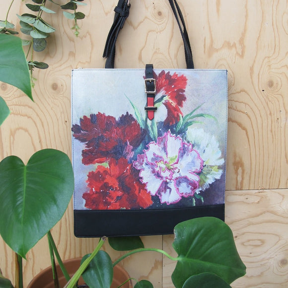 House of Disaster Framed Tote Bag - RRP £49.99 - Charming And Trendy Ltd