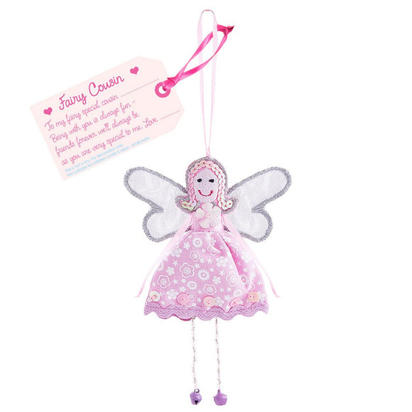 Fair Trade Fairies - Fairy Cousin - Charming And Trendy Ltd