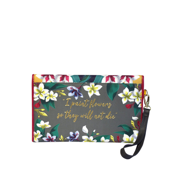 House of Disaster Frida Kahlo 2 in 1 Tote and Clutch Bag - RRP £69.99 - Charming And Trendy Ltd