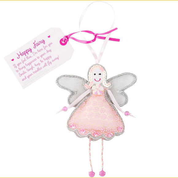Fair Trade Fairies - Happy Fairy GF0025