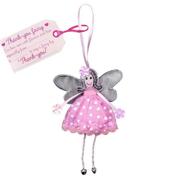Fair Trade Fairies - Thank-You Fairy - Charming And Trendy Ltd
