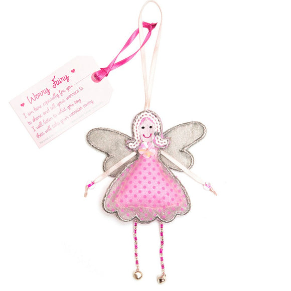 Fair Trade Fairies - Worry Fairy - Charming And Trendy Ltd