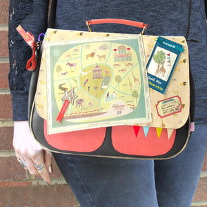 "House of Disaster Memento ""Zoo"" Satchel - RRP £55.00 - Charming And Trendy Ltd"