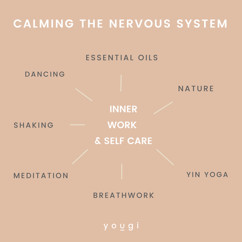 How to calm the nervous system