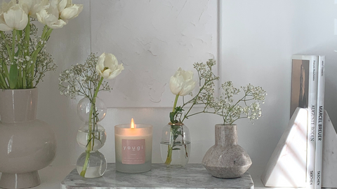 Using Scent to Set Intentions with Yougi Candles