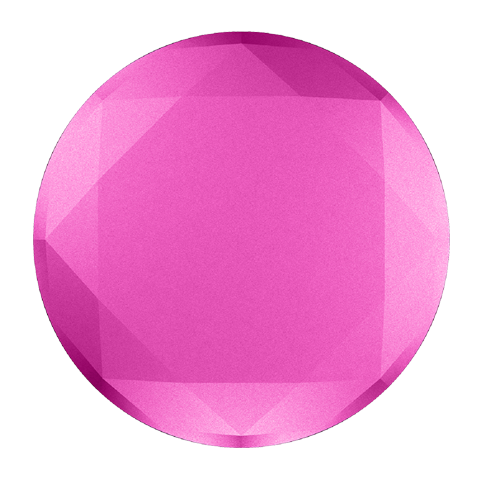 FUSHIA METALLIC DIAMOND
