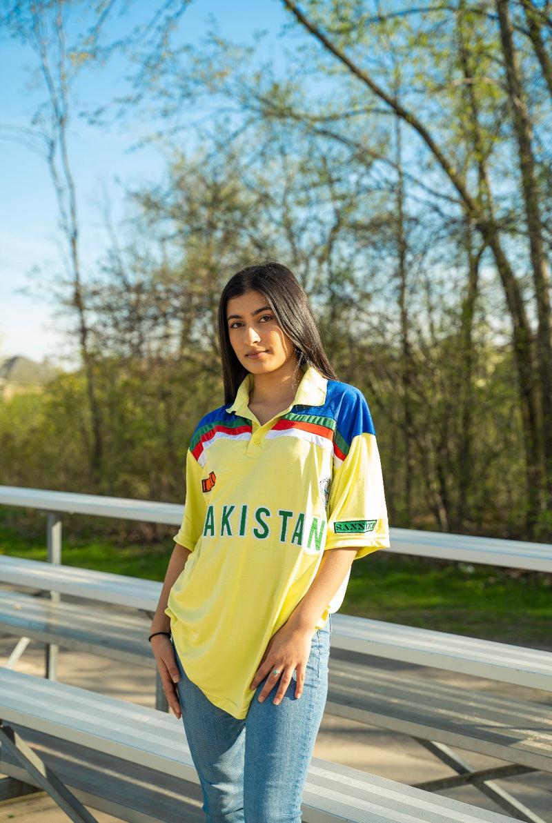 '92 Vintage World Cup Cricket Jersey