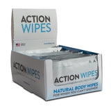 Action Wipes Display Box