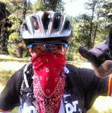 Mountain Biking in Bend, OR can be dusty