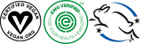 EWG VERIFIED, Vegan and Cruelty Free Certified
