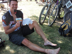 Our natural wipes are great for bike trips.