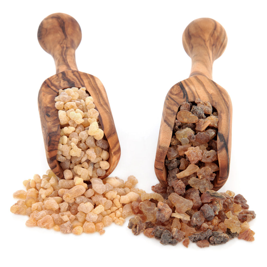 Frankincense and Myrrh Skincare Products