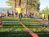 Slacklining at Lake Tahoe