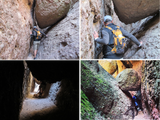 Tight hiking passages, Pinnacles