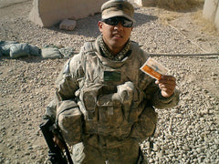 Action Wipes are great for military personnel.