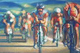 Marriott Courtyard King Kamehameha's Kona Beach Hotel Triathlon Painting - Bike