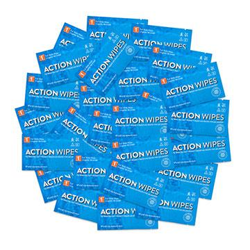 Action Wipes - 25 Individually Wrapped