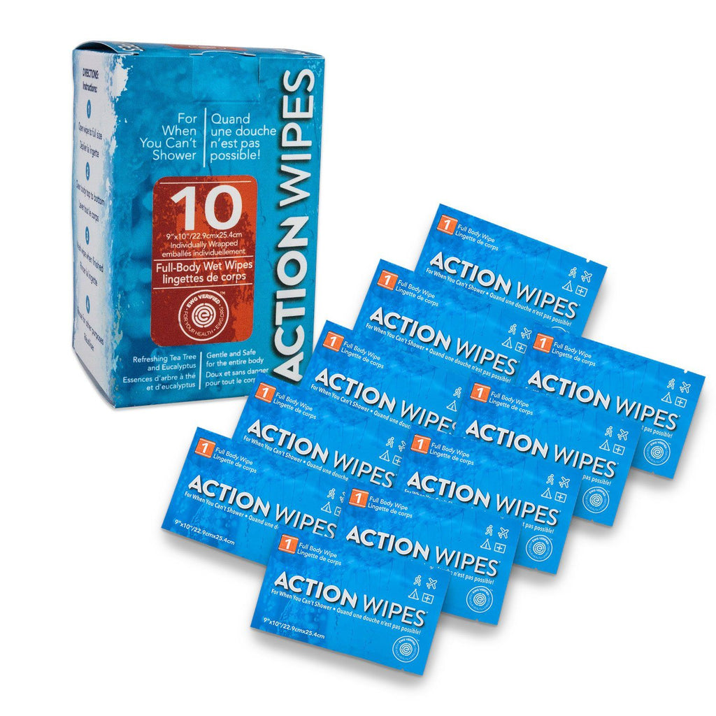 Action Wipes SINGLE PACKS