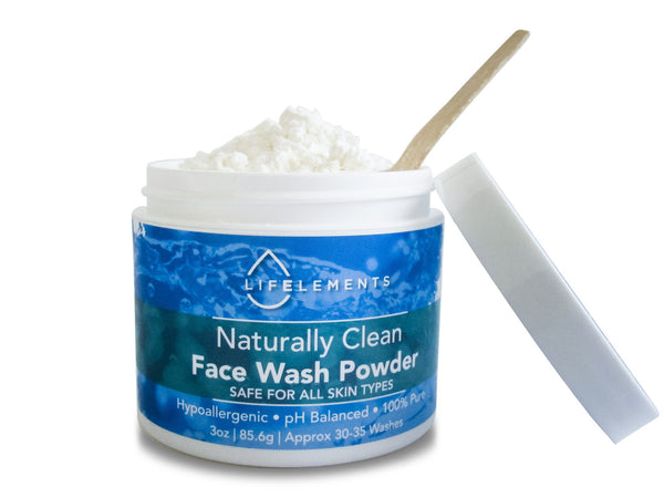Naturally Clean Face Wash Powder