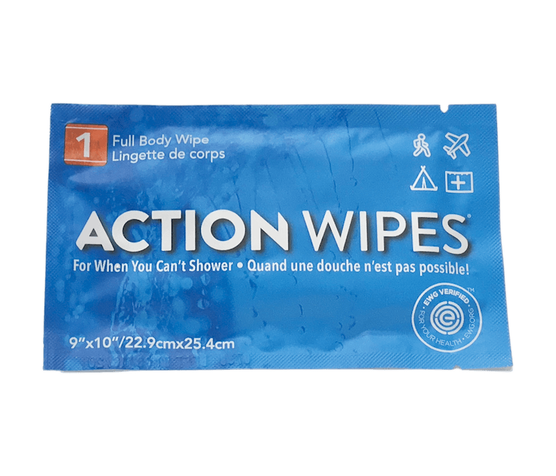 Action Wipes - Individually Wrapped