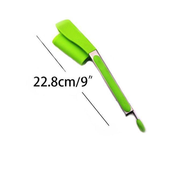 2-in-1 Spatula Tongs | Utensils and Gadgets | [option 1] Green | [store_name]