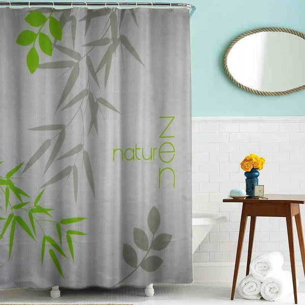 'Behind the Bamboo' Shower Curtain | Shower | [option 1] 180*200cm | [store_name]