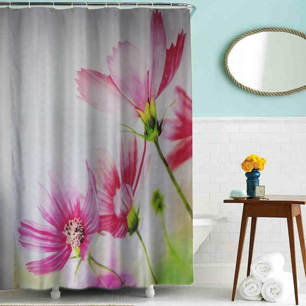 'Behind the Bamboo' Shower Curtain | Shower | [option 1] 180*180cm | [store_name]