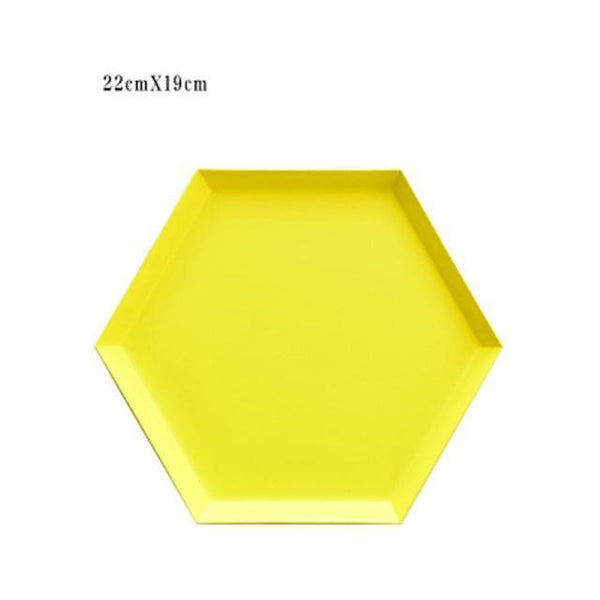 Geometric Serving Plate | Servingware | [option 1] Hexagon | [store_name]