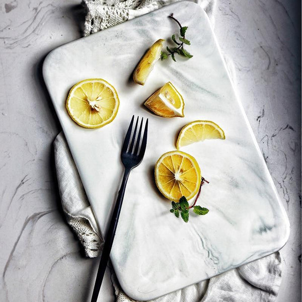 Marbled Serving Tray | Servingware | [option 1] | [store_name]