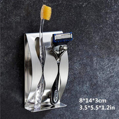 Wall Mounted Toothbrush / Shaver Holder
