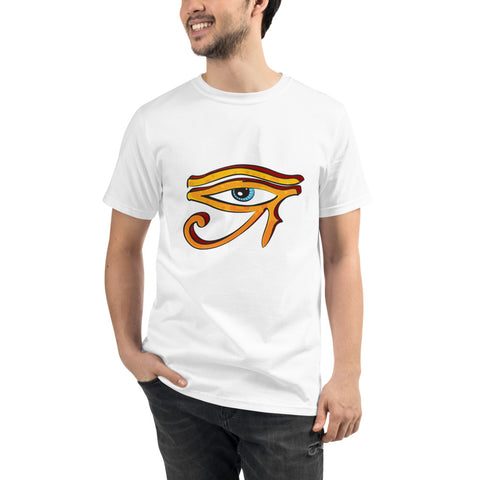 Eye of Horus 100% Organic Unisex Tee - Truth Seeker's Journey