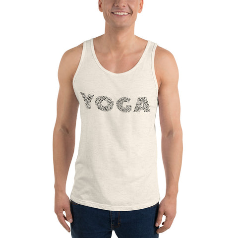 YOGA Poses Unisex Jersey Tank - Truth Seeker's Journey