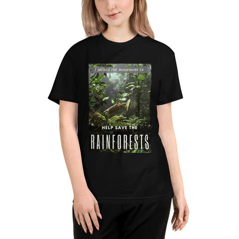 I Joined The Movement To Help Save The Rainforests Unisex Eco Tee - Truth Seeker's Journey