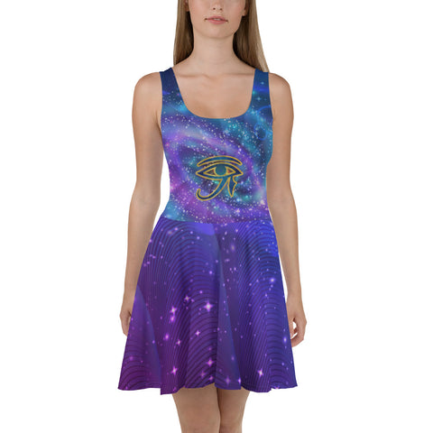 Ladies' Eye Of The Universe Dress - Truth Seeker's Journey