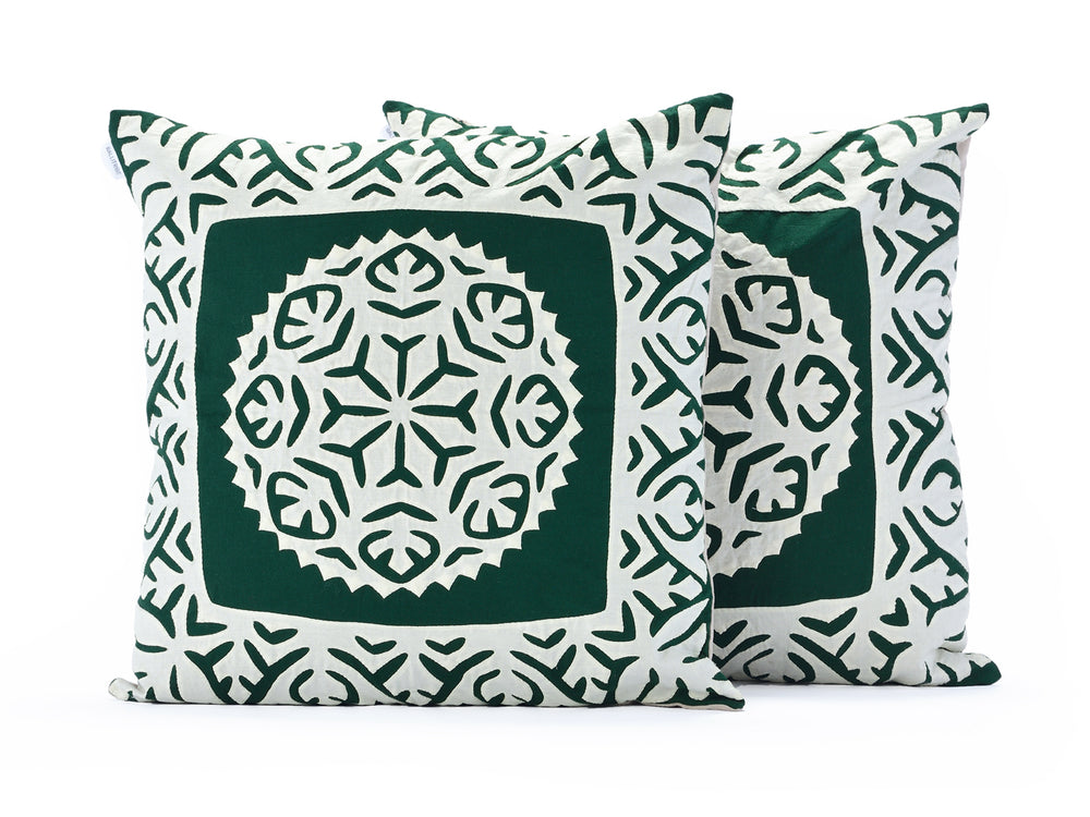 Forest Green Decorative Pillow 3