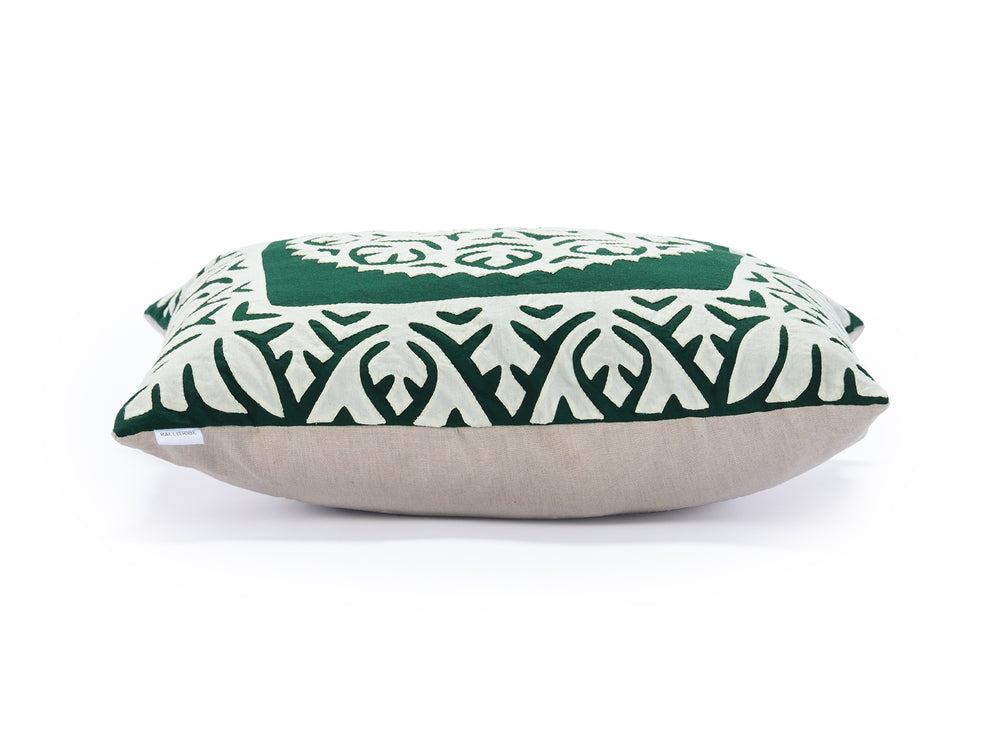 Forest Green Decorative Pillow 2