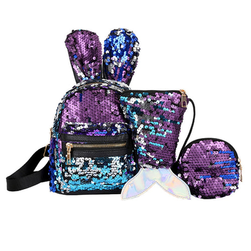 3Pcs School Bag
