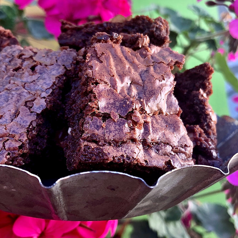 Brownie de Chocolate con almendras - Mukavatienda