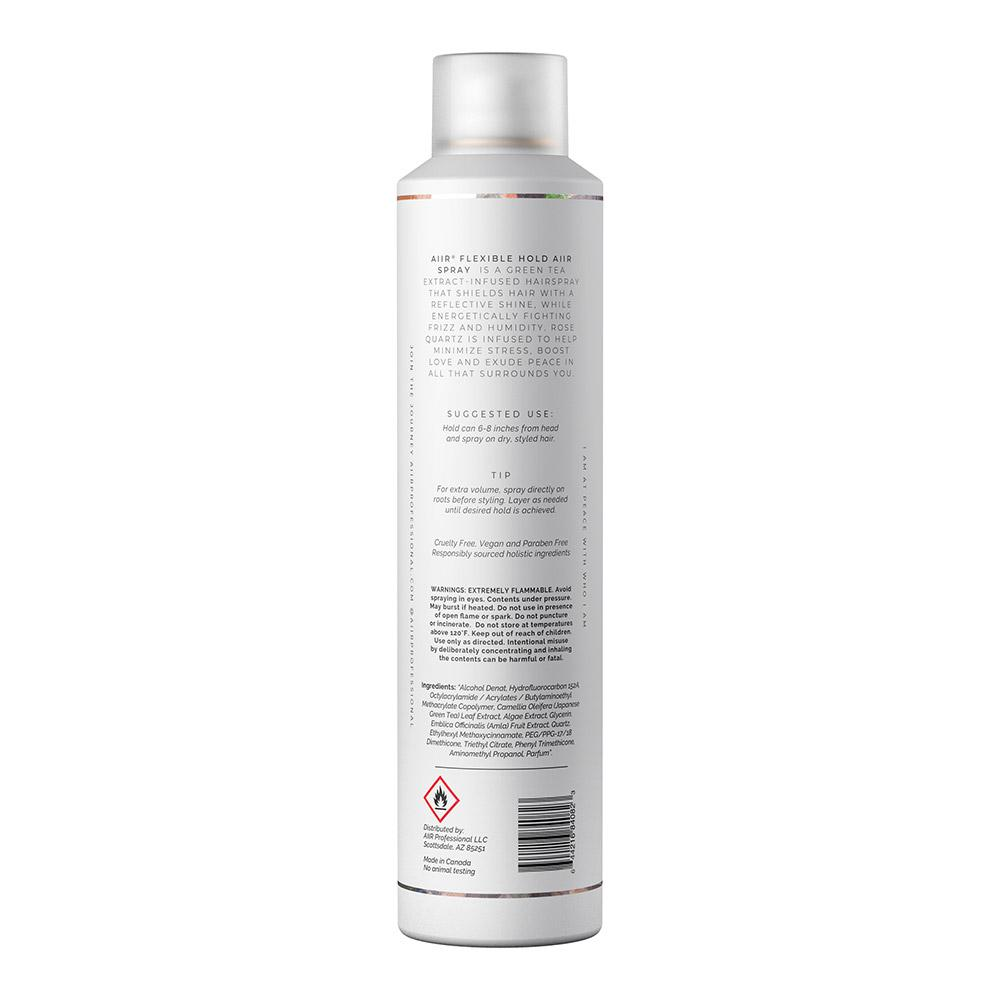 Holistic hair styling ingredients - healthy hairspray ingredients