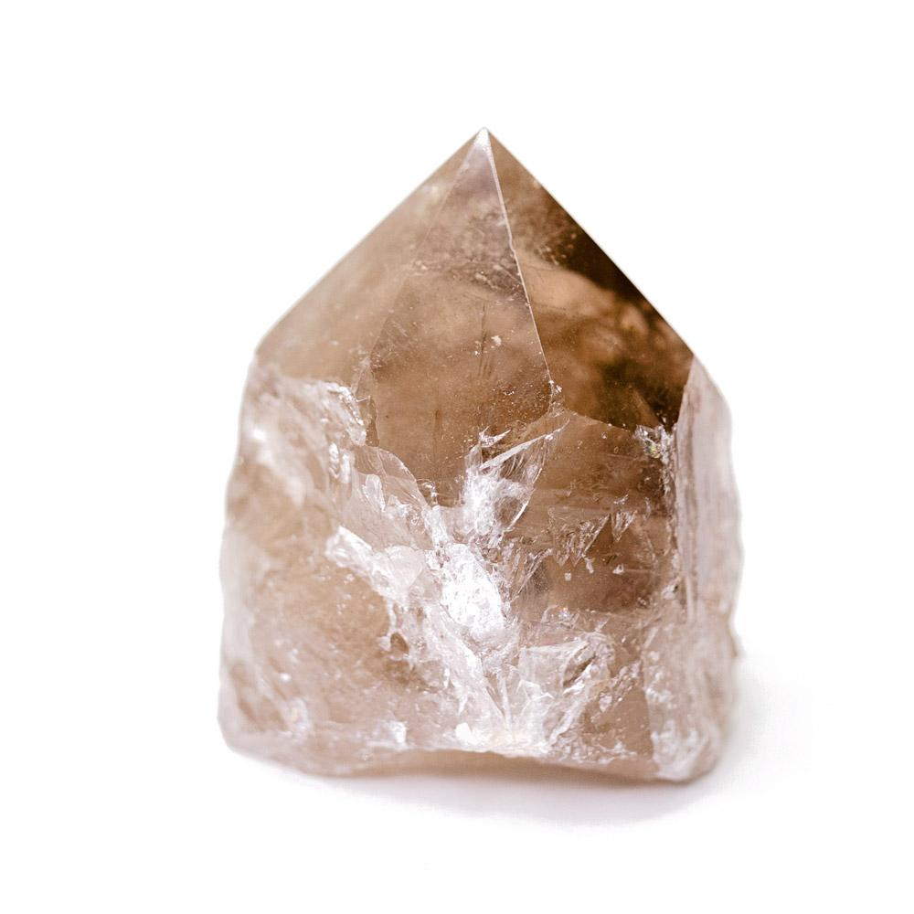 Smoky Quartz Crystal Point - Use for grounding, balancing, relaxation, and to reconnect and regain composure.
