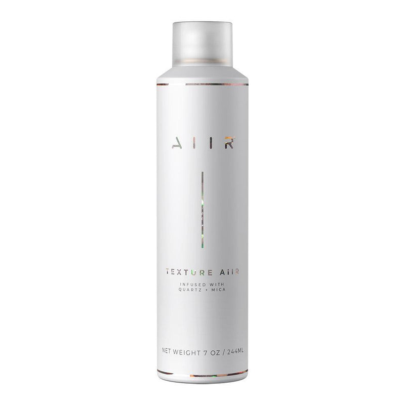Crystal infused dry texture spray that gives hair natural, lived-in texture with lasting results and volume