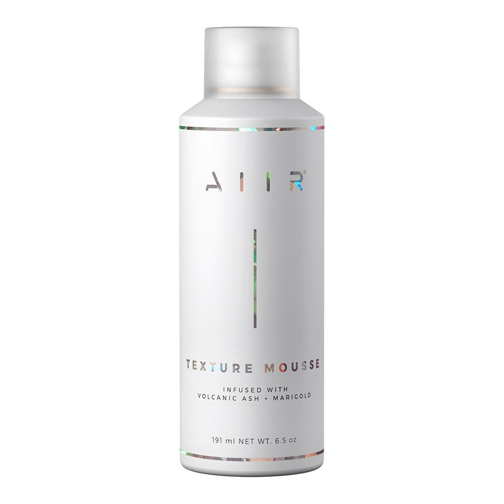 TEXTURE MOUSSE from AIIR Professional - an invisible weightless mousse for creating un-done texture.