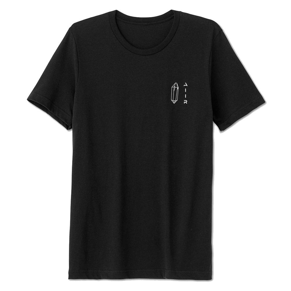 The AIIR 100% Ringspun Cotton T-Shirt Black