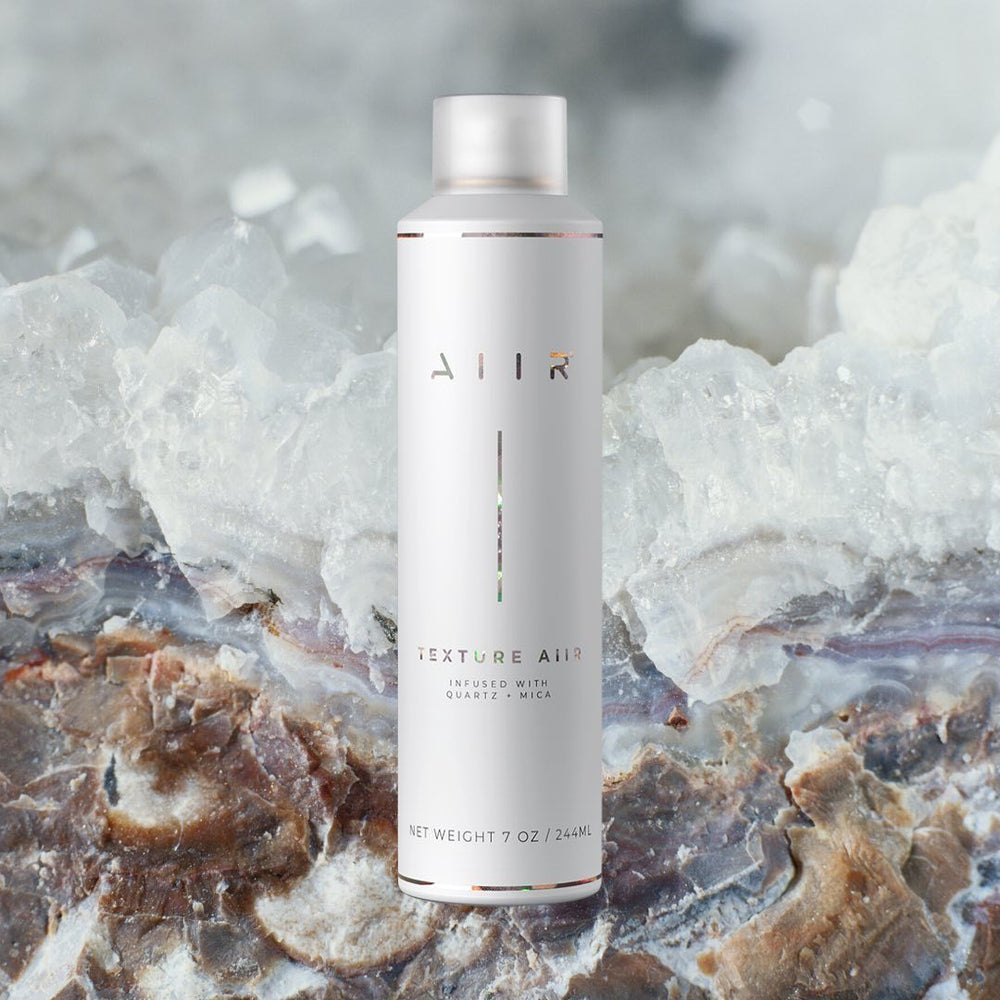 texture aiir dry texture spray infused quartz and mica