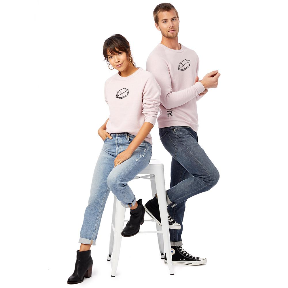 """The Gem"" Fleece Sweatshirt for men and women"