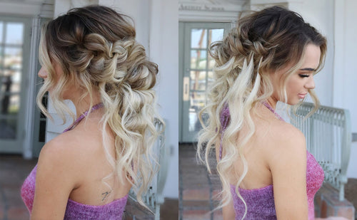 how to finish braids and make them look pretty